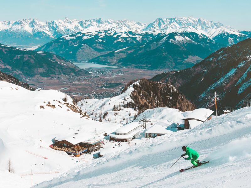 Skiën in Saas-Fee