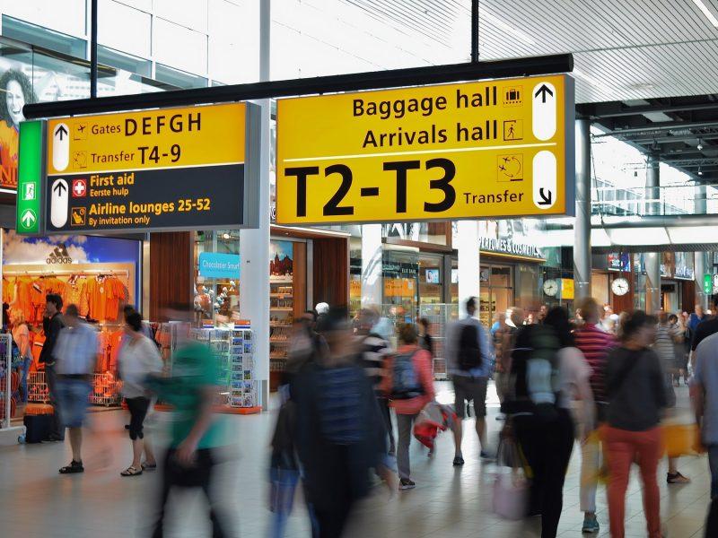 Verschillende airports